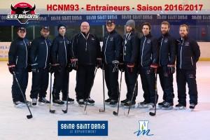 Photo Entraîneurs HCNM 2016-2017